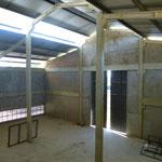 Die neue KFZ Werkstatt von innen