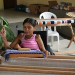 Weben für Menschen mit Behinderung