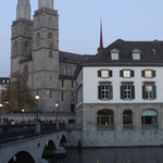 Grossmünster with Wasserkirche