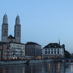 Grossmünster and Wasserkirche