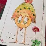 Happy Bird von Monika
