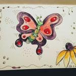 Flügelschlag des Schmetterlings von Susan