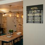 Hotel des boulevards Paris