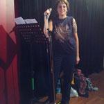 Laura,rockandco répétition du 29 10 2015 aux studios de la cartonnerie de reims