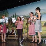 Das Klarinettenquartett Kaindorf beim Sang- & Klangvoll des MGV Kaindorf | Oktober 2012