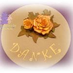 Torte mit Rosen 65 Euro