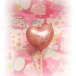 Herz Cake Pops rosa 1,70 Euro