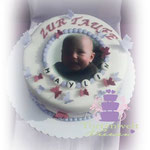 Foto Tauftorte Geburtsarmband ab 58 Euro