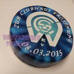 Alle Logos möglich, Trockenkuchen ab 35 Euro Sahnecreme ab 41 Euro in 18 cm Durchmesser