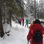 Weg durch die Klam zur Schwarzentennalm