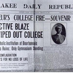 newspaper article on 1906 fire
