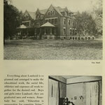 images of campus - ladies hall and student's room