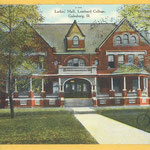 ladies hall postcard
