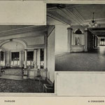 1914 parlor and corridor (building unknown)
