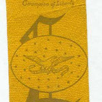 1908 Lincoln celebration ribbon
