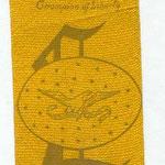 1908 Lincoln celebration ribbon