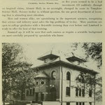 images of campus - Tompkins Science Hall