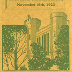 1923 homecoming official program