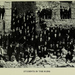 1906 students in the ruins