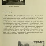 images of campus - ladies hall parlor and image of students having lunch on campus