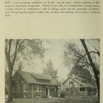 images of campus - Pi Beta Phi & Alpha Xi Delta sorority houses