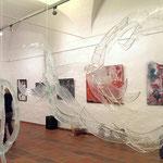 Installation mit Glas, Kunsthalle Kempten