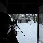 Grundlagentraining 25 Schuss stehend freihändig auf Pendelziele