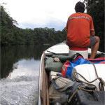 Navigation sur le fleuve Sinnamary