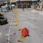 Stendimento sismico MASW