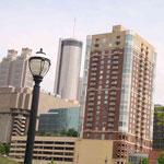 Atlanta ist die Heimatstadt von vielen grossen und bekannten Firmen...