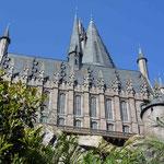 Schloss Hogwarts, die Schule von Harry Potter...