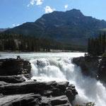 Auch viele Wasserfälle gibts hier...