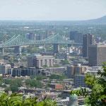 Vom Mount Royal hat man eine wunderschöne Aussicht über die Stadt