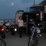 Auch die Grossen Trucks und Motorräder fehlen bei so einem Anlass natürlich nicht...