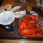 Endlich... Ein Doppel-Lobster Menü für etwas mehr als zum Preis eines Big Mac Menüs...