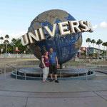 Heute sind die Universal Studios an der Reihe...