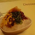 oha, spezial Dessert. Mhhh, nur für Einheimische!!!!!