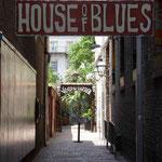 Das House of Blues... Blues und Jazz sind hier allgegenwärtig...