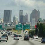 Endlich in Atlanta angekommen...