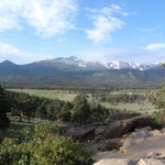 viele Berge...