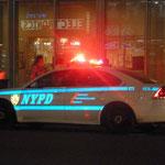 NYPD ist auch überall anzutreffen...