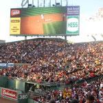 Das Stadion ist ausverkauft...