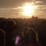 40`000 Besucher zählt das Countryfestival täglich...