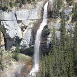 In Banff sieht man an jeder Ecke einen Wasserfall. Das ist einer der schöneren...