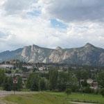 In den Rocky Mountain angekommen siehts fast so aus wie in der Schweiz...