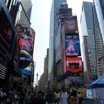 Der Times Square...