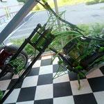 und ein grünes Bike