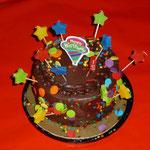 Ein Kuchen für das Geburtstagskind...