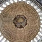 Die Kuppel des Kapitols von innen