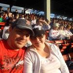 Wir freuen uns auf unser erstes Baseball Spiel...